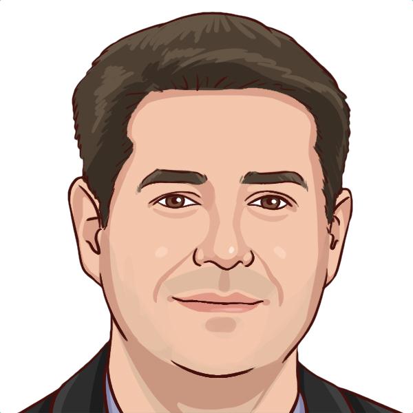 Sketch of Phil Cardoso